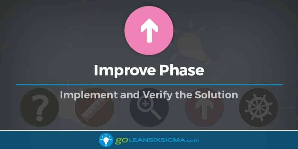 Improve Phase - GoLeanSixSigma.com