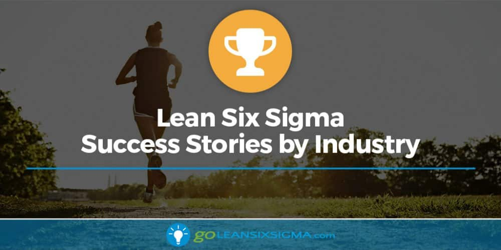 Industry Success Stories Banner Goleansixsigma Com