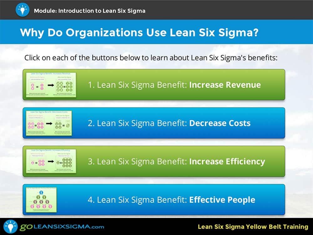 Lean Six Sigma Yellow Belt Training - GoLeanSixSigma.com