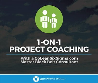 1-on-1 Project Coaching - GoLeanSixSigma.com