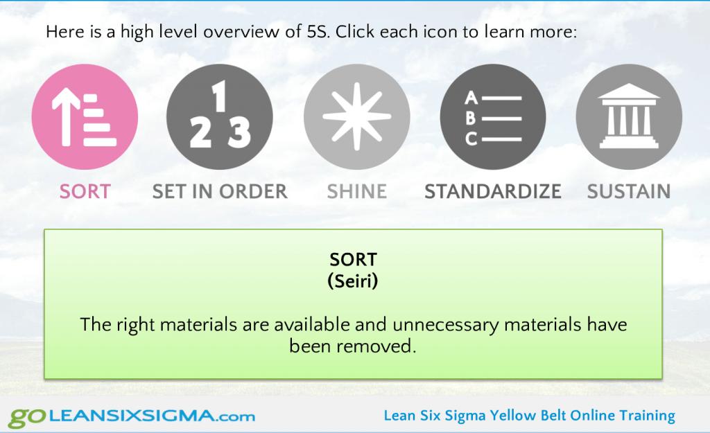 5S Online Activity