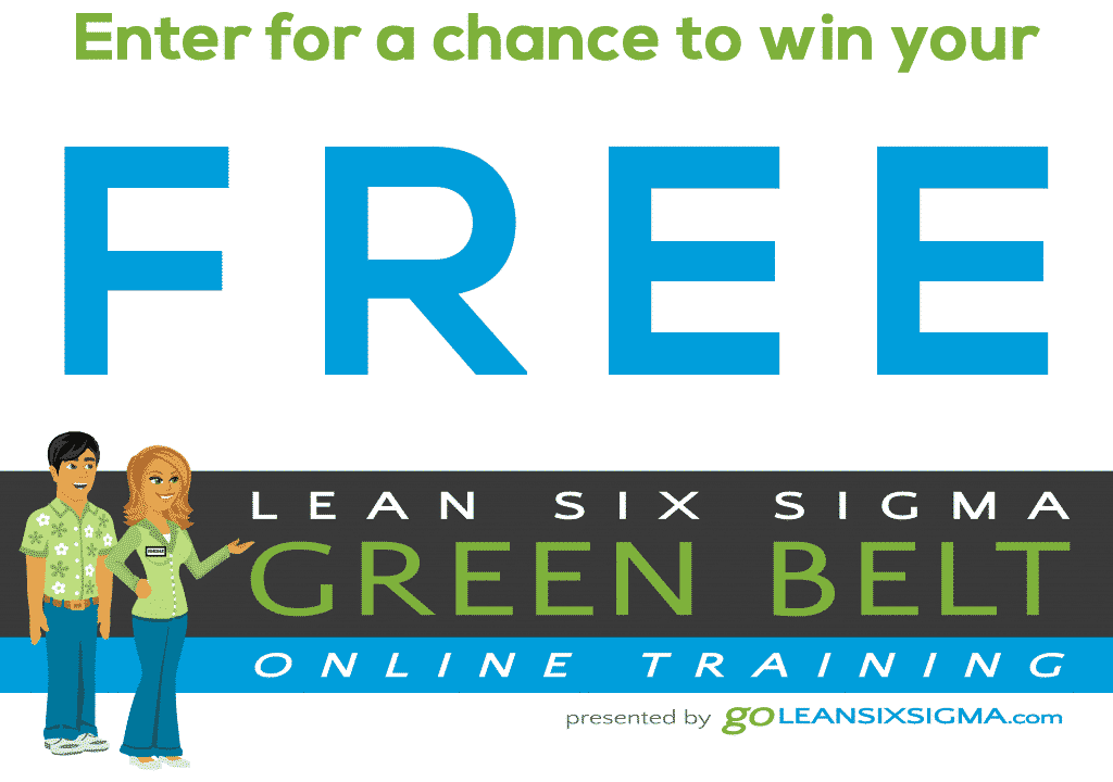 Contest Lean Six Sigma Green Belt Training 1024×349
