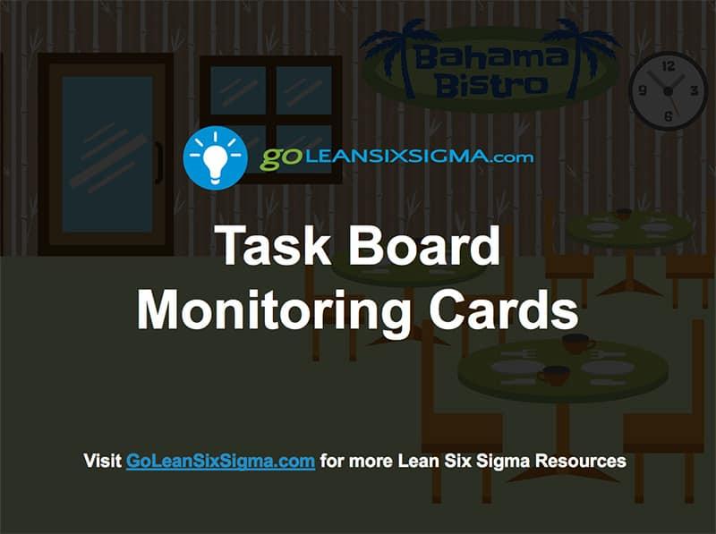 Leader Standard Work Task Board Monitoring Cards - GoLeanSixSigma.com