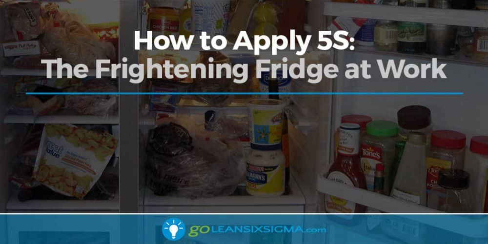 How To Apply 5S: The Frightening Fridge At Work - GoLeanSixSigma.com