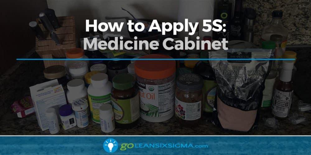 How to Apply 5S: Medicine Cabinet - GoLeanSixSigma.com