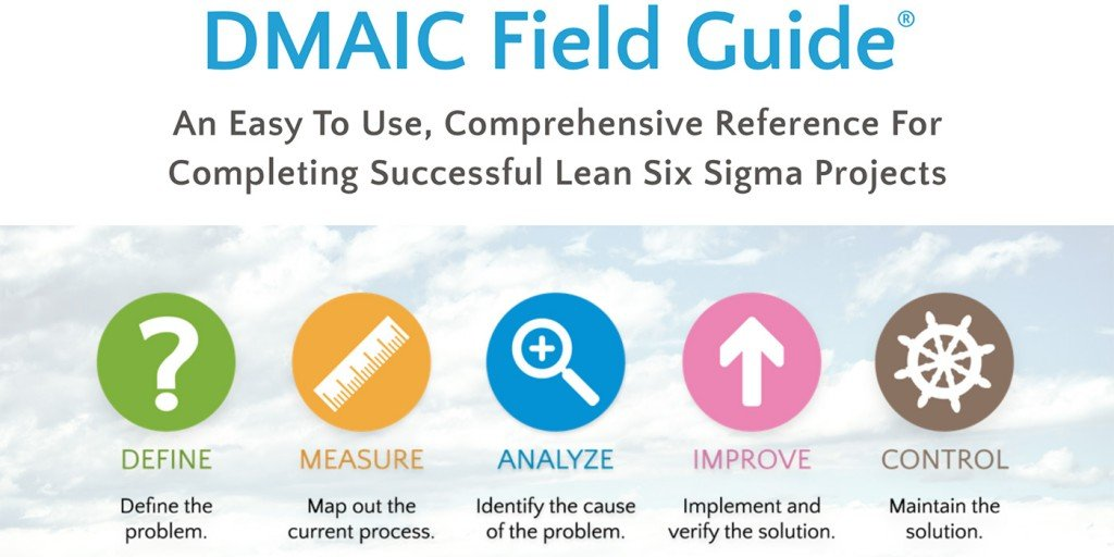 Dmaic Field Guide Quick Reference For Lean Six Sigma