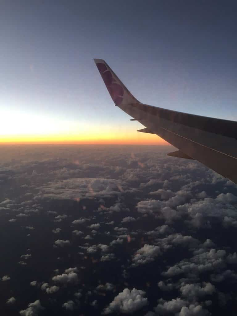 We are proud to fly Hawaiian Airlines.