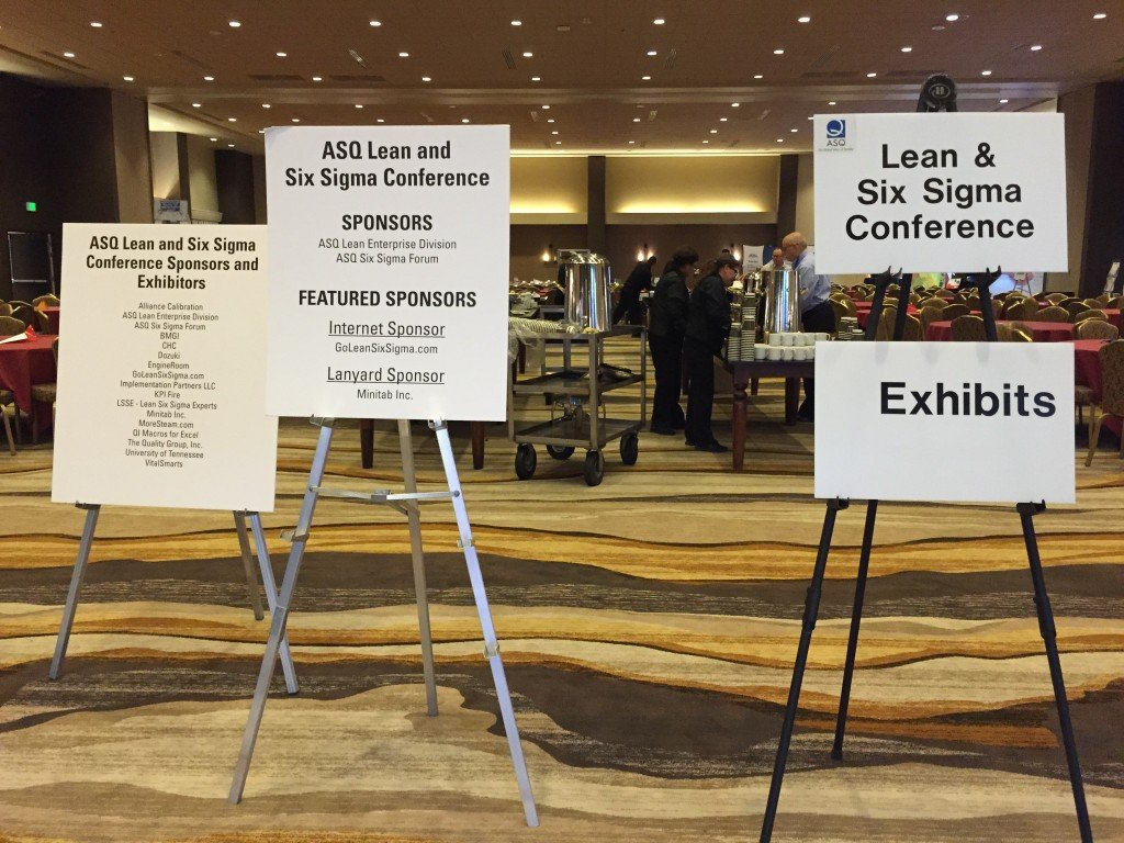 Welcome to the 2015 ASQ Lean and Six Sigma Conference!