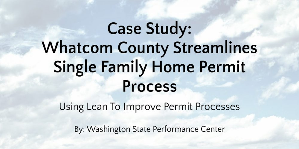 Whatcom County – Summary – GoLeanSixSigma.com