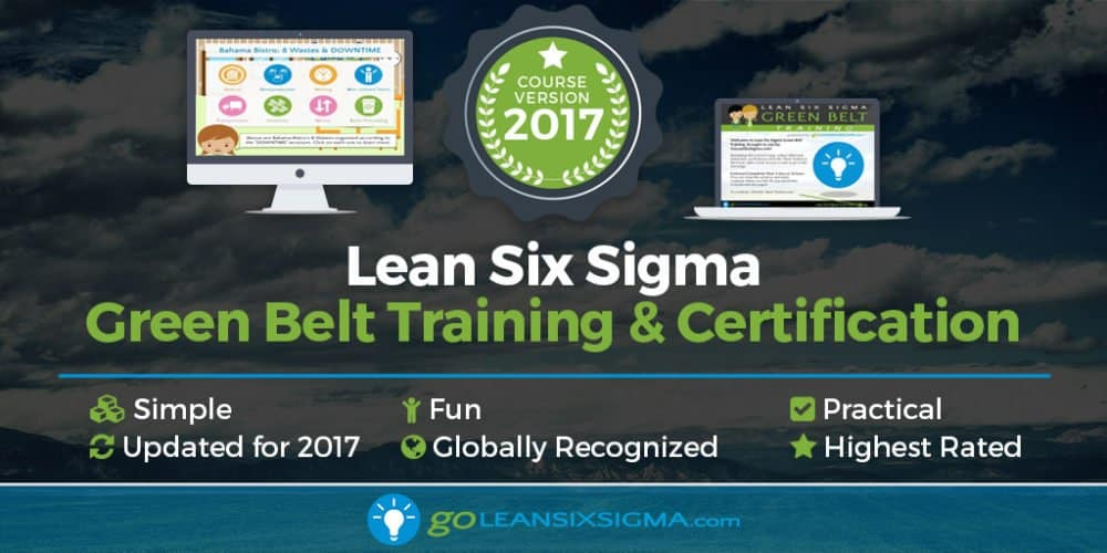 Lean Six Sigma Green Belt Training - GoLeanSixSigma.com