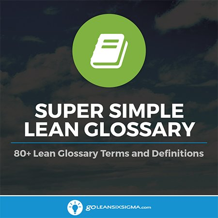 Super Simple Lean Glossary