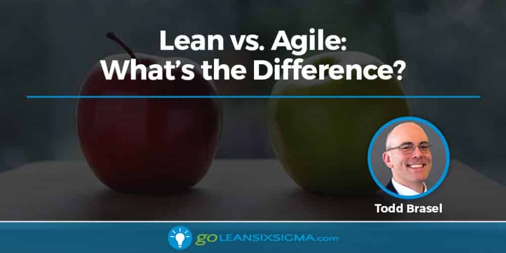 Lean Vs. Agile - What's The Difference - GoLeanSixSigma.com