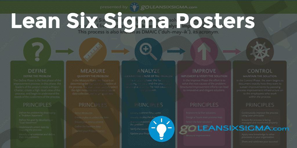 Lean Six Sigma Posters – GoLeanSixSigma.com