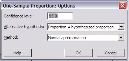 OneProportionTest-Minitab-Options