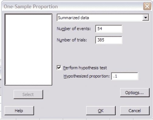 OneProportionTest-Minitab-Settings