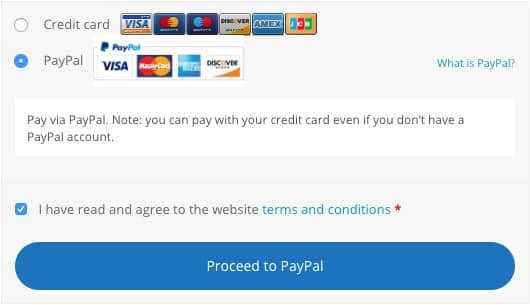 Select 'PayPal' instead of 'Credit Card' - GoLeanSixSigma.com