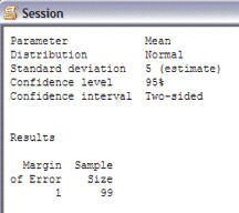 SampleSizeCalculationContinuous-Minitab-Session-2