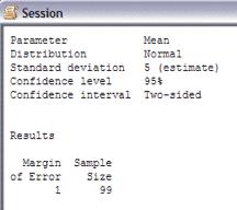 SampleSizeCalculationContinuous-Minitab-Session-2