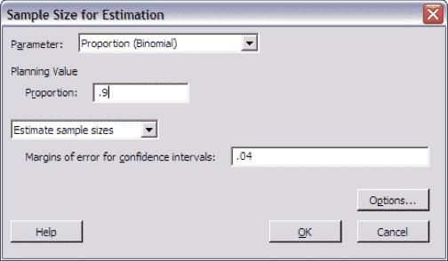 SampleSizeCalculationDiscrete-Minitab-Estimation-2