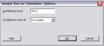 SampleSizeCalculationDiscrete-Minitab-Options