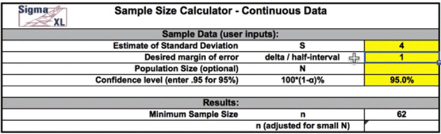 SampleSizeCalculationDiscrete-SigmaXL-2