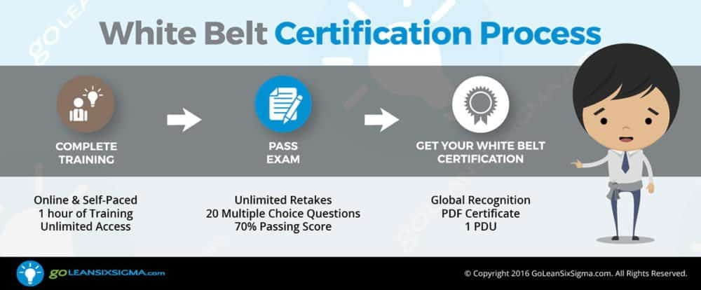 White Belt Certification Process - GoLeanSixSigma.com