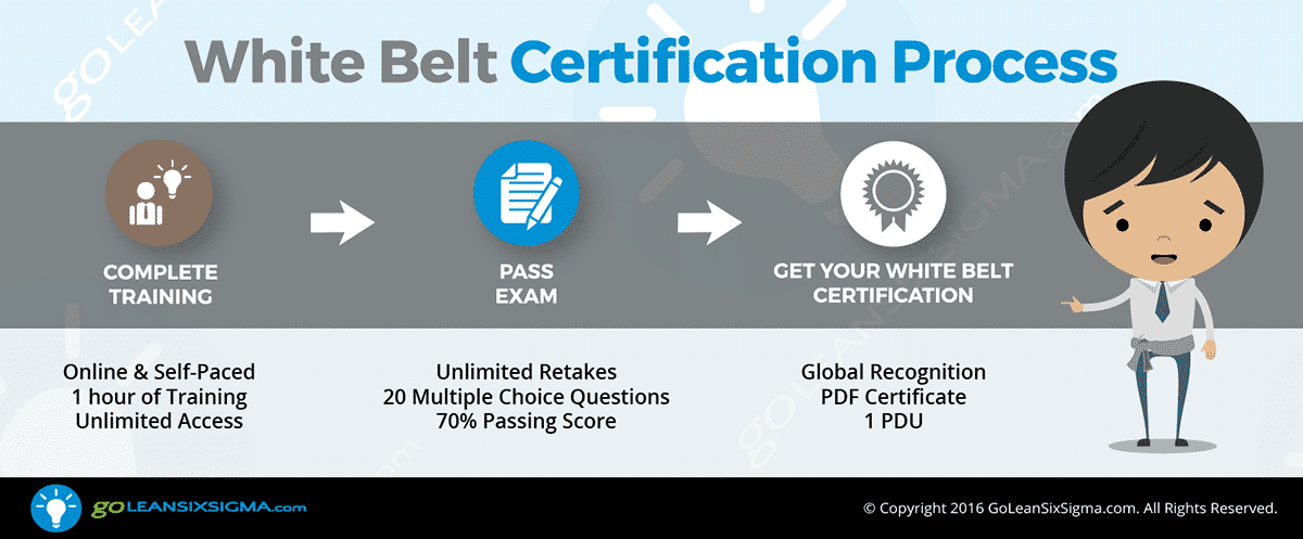 White Belt Certification Process