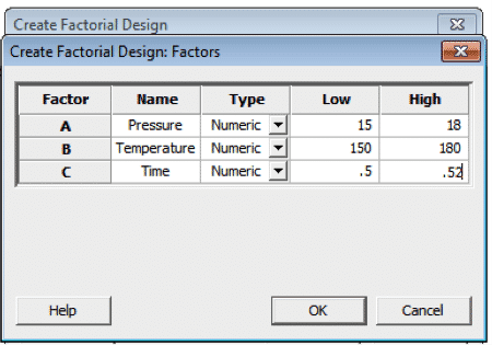 DOE-Minitab-FullFactorial-4-Factors