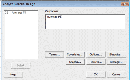How To Run A Design Of Experiments Full Factorial In Minitab Goleansixsigma Com