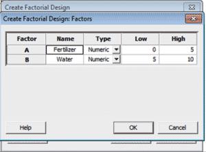 DOE-OFAT-Minitab-5-Designs-Factors
