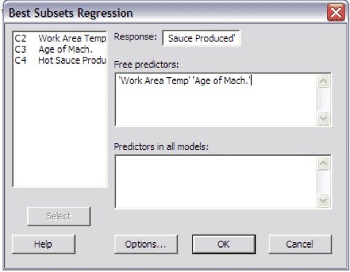 MultipleRegressionTest-Minitab-Settings2