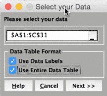 MultipleRegressionTest-SigmaXL-SelectData