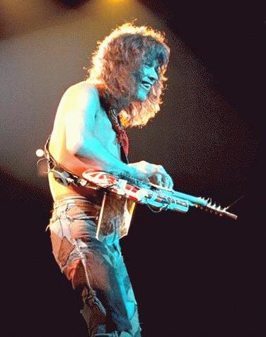 Van Halen - Dinosaur Rock Guitar - GoLeanSixSigma.com