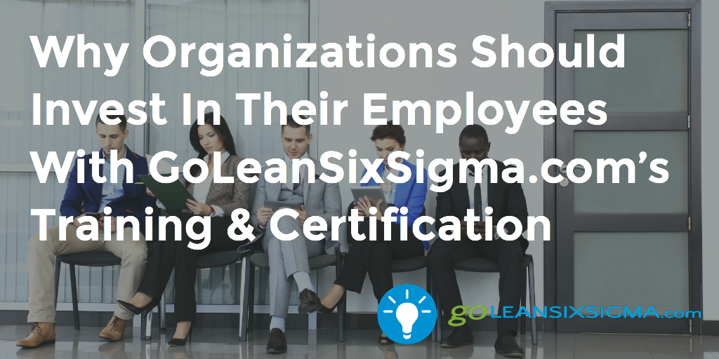 Why Organizations Should Invest In Their Employees With GoLeanSixSigma.com's Training & Certification – GoLeanSixSigma.com