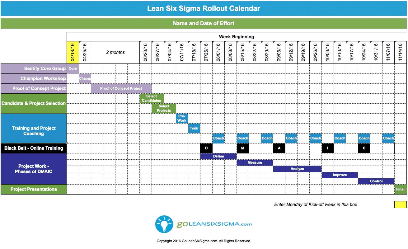Lean_Six_Sigma_Rollout_Calendar_v3.0_-_GoLeanSixSigma.com