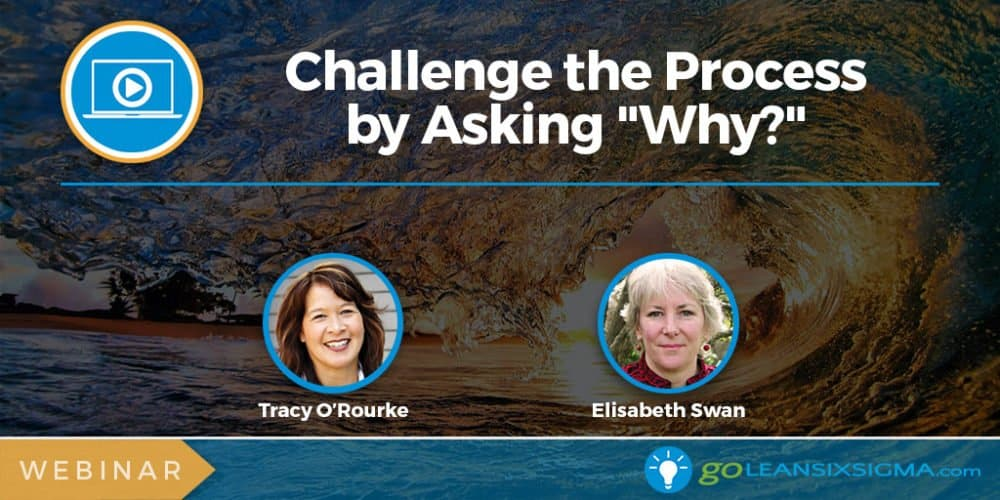"Webinar: Challenge The Process By Asking ""Why?"" - GoLeanSixSigma.com"