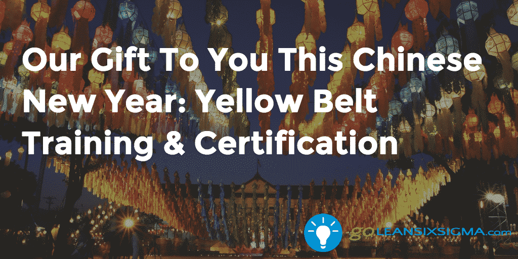 Our Gift To You This Chinese New Year: Yellow Belt Training & Certification In Chinese