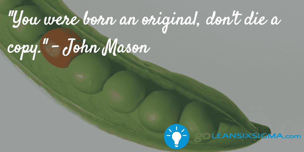 Born Original - GoLeanSixSigma.com