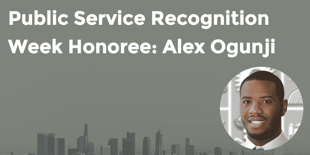 Public Service Recognition Week Honoree Alex Ogunji - GoLeanSixSigma.com