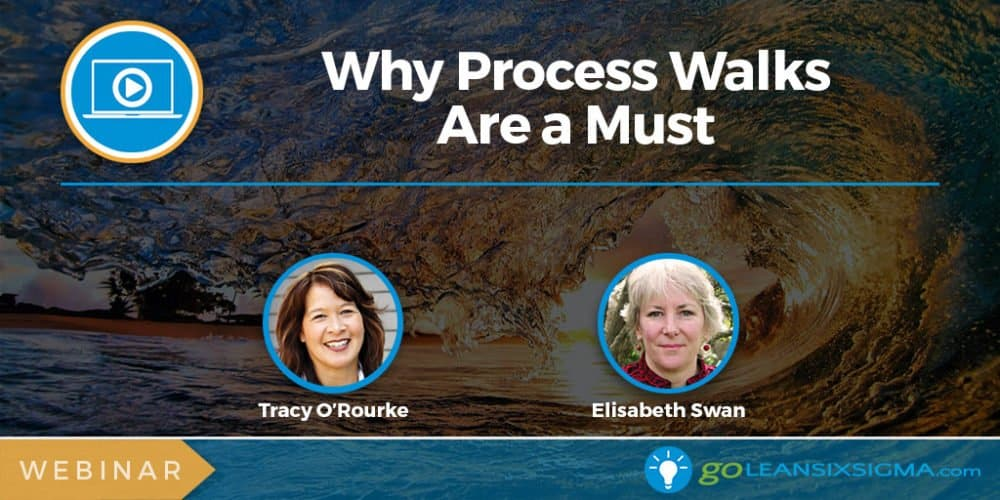 Webinar: Why Process Walks Are A Must - GoLeanSixSigma.com