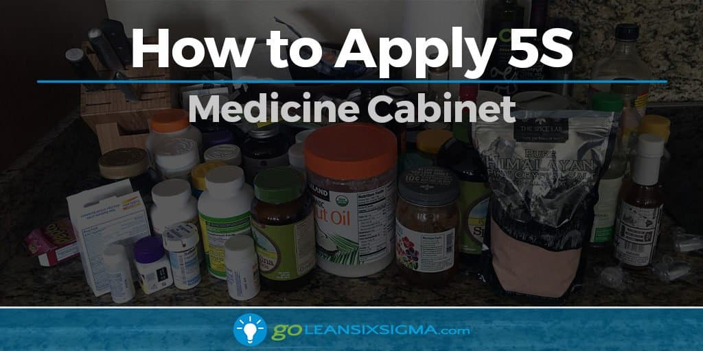 How to Apply 5S - Medicine Cabinet - GoLeanSixSigma.com