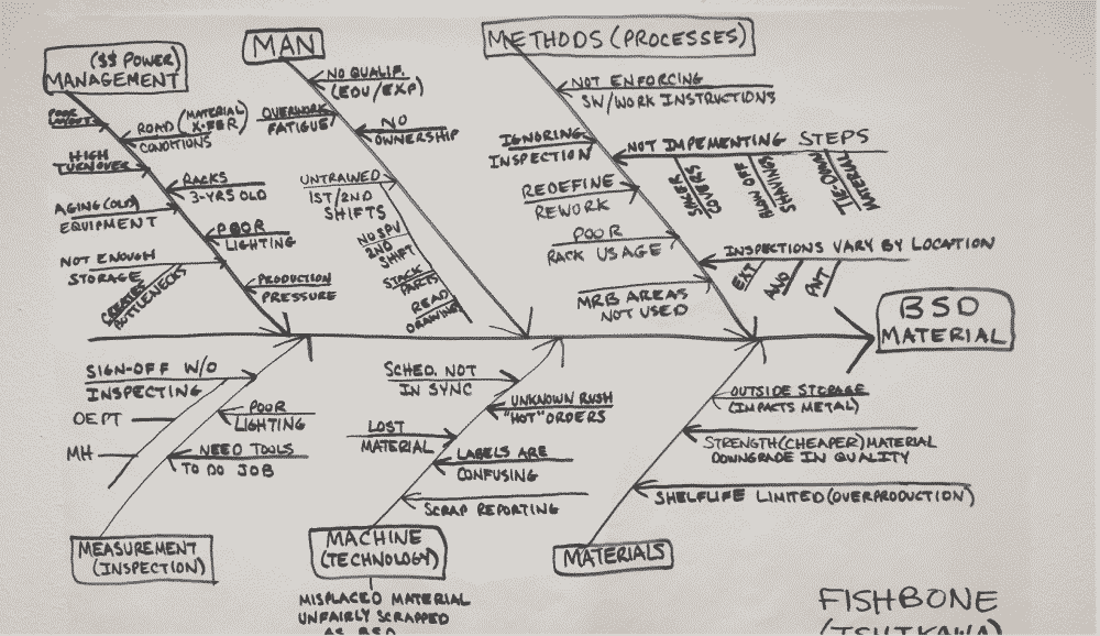 Fishbone Diagram - BSD Project