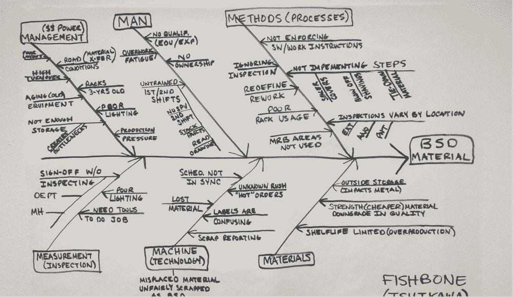 Fishbone Diagram - BSD Project
