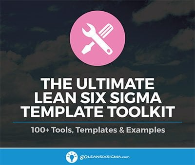The Ultimate Lean Six Sigma Template Toolkit - GoLeanSixSigma.com