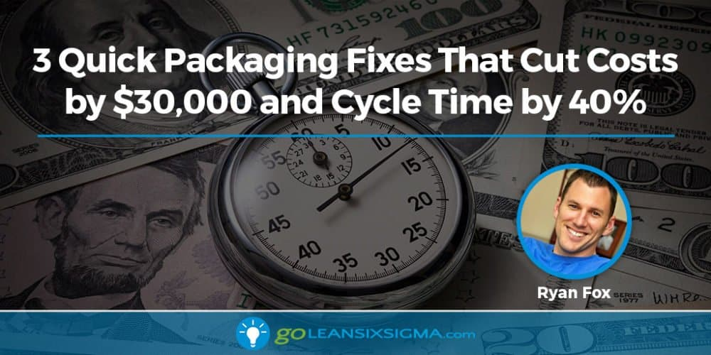 3 Quick Packaging Fixes - Ryan Fox - GoLeanSixSigma.com