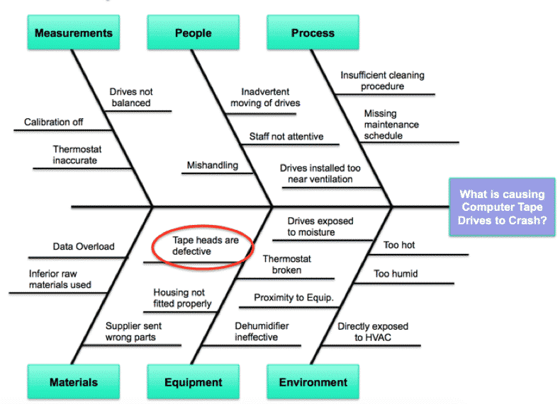 Fishbone Diagram - IBM