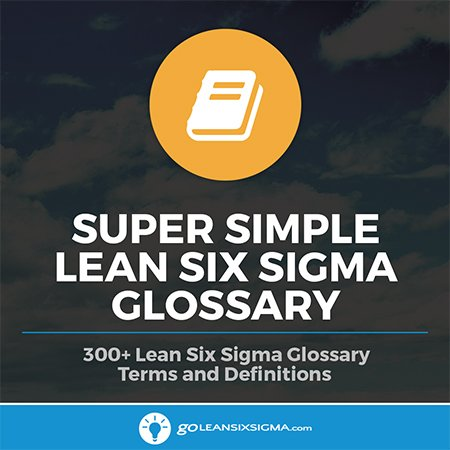 Super Simple Lean Six Sigma Glossary