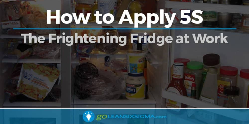 How To Apply 5S - The Frightening Fridge At Work - GoLeanSixSigma.com
