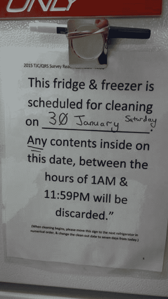 How to Apply 5S: The Frightening Fridge at Work ...