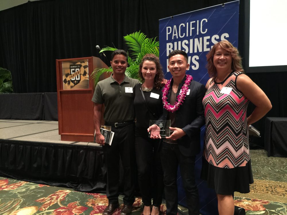 Fastest 50 - Pacific Business News - GoLeanSixSigma.com Team Photo